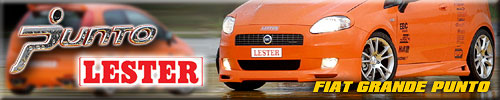 Fiat Grande Punto tuning by Lester