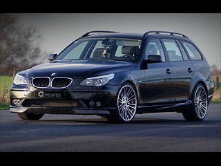 bmw 5 e61 touring g5 gpower